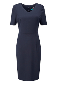 image of product Contourflex_Pendleton_Dress_Navy_Mannequin_L_188