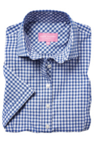 image of product 2322A Tulsa Blue Gingham